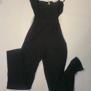 Asos black romper Size 2